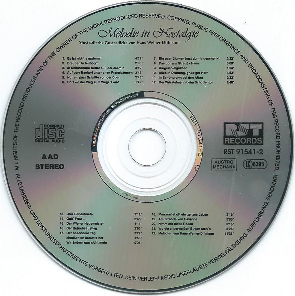 Melodie in Nostalgie – 6