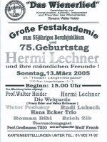 Theater Längenfeldgasse 13.03.2005