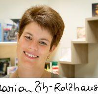 Marion Zib mit Unterschrift