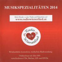 Musikspezialitäten 2014 – 1