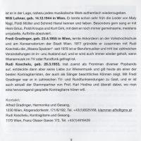 Perlen des Wienerlieds Booklet – 5
