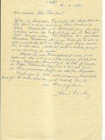 Brief Eisele an Arleth 16.10.1962