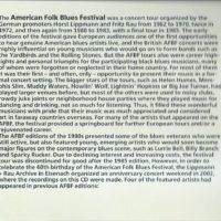 American Folk Blues Festival 2002 – 2