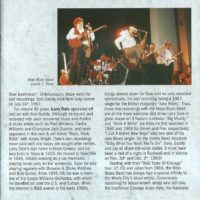 Blues Parade 2000 Booklet – 5