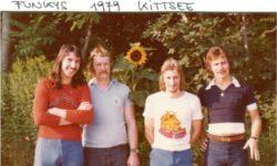 Funkys – vlnr. Franky Marinovic, Xandl Marbach, Blinky, Peter Müller
