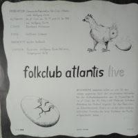 Folkclub Atlantis – 2