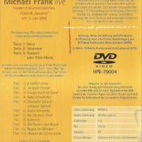 Michael Frank Live Inlay – 4