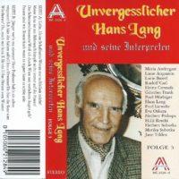 Unvergesslicher Hans Lang – Folge 3 – 1