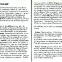 Schloßkonzert – Booklet – 2-3