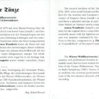 Wiener Tänze – 2-3