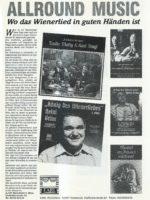 Musikanten Express, Dez. 1986