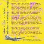 Flug 1 – Booklet – 2
