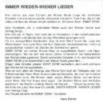 Immer wieder Wiener Lieder – 3