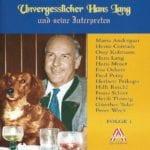 Unvergesslicher Hans Lang, Folge 1 – 1