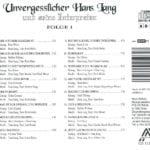 Unvergesslicher Hans Lang, Folge 1 – 5