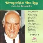 Unvergesslicher Hans Lang, Folge 2 – 1