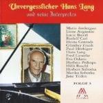 Unvergesslicher Hans Lang, Folge 3 – 1