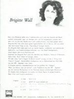 Brigitte Wall Bio