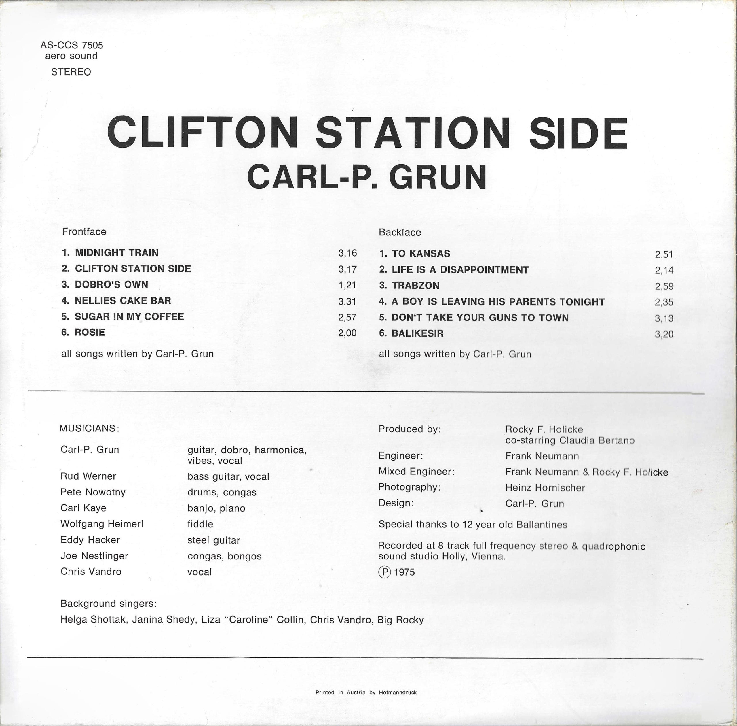 Clifton Station Side – 4