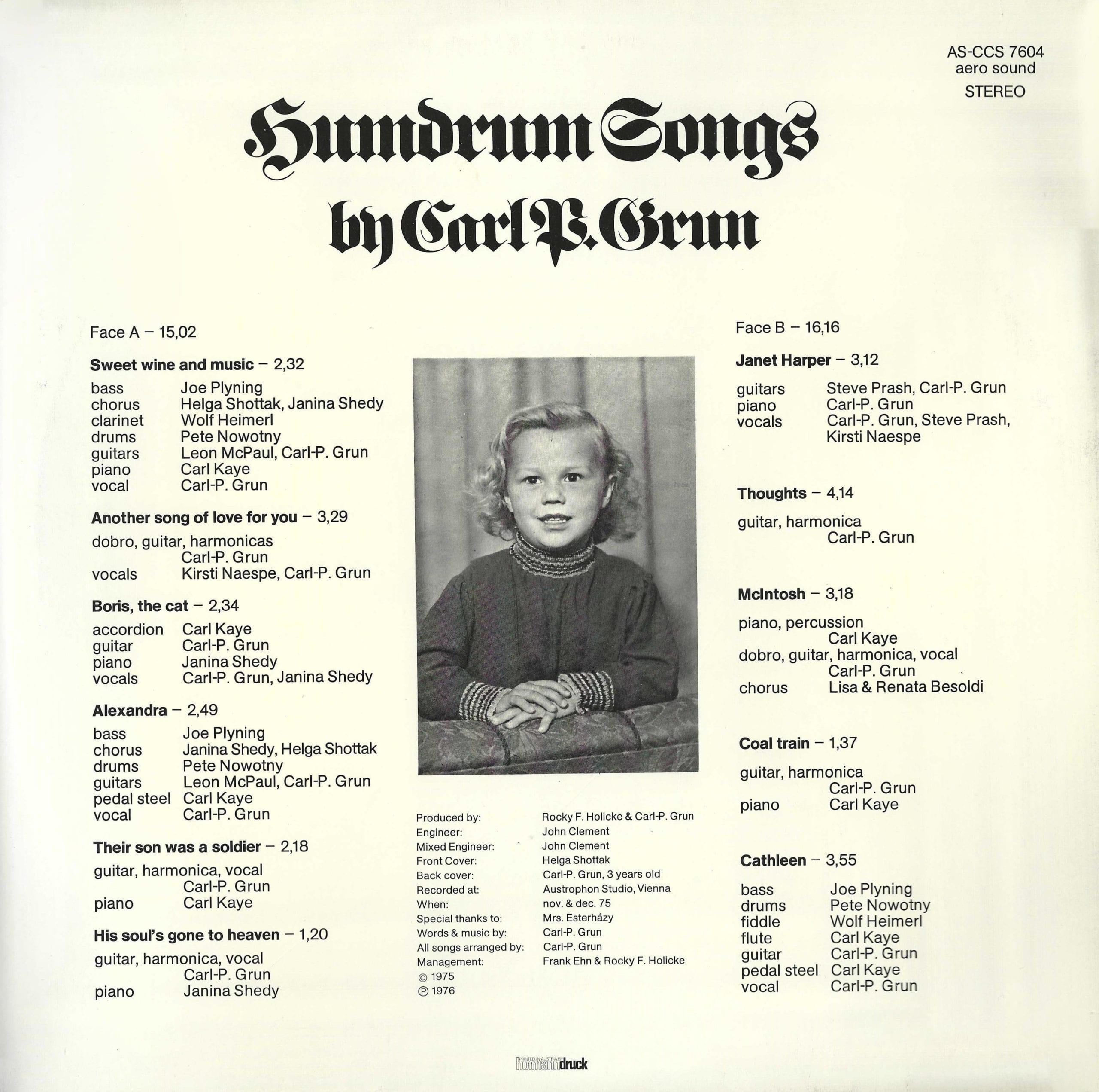 Humdrum Songs – 2