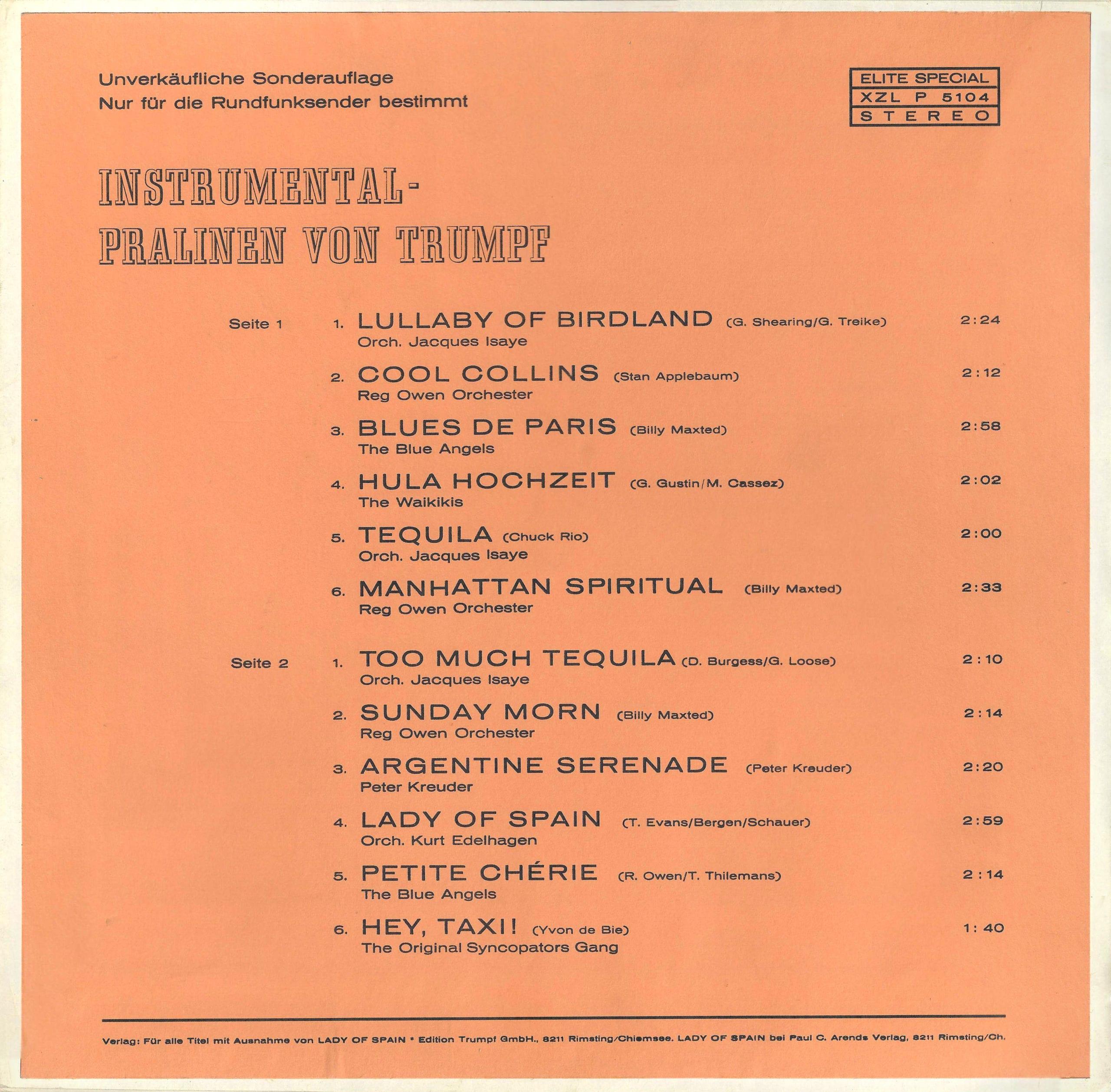 Instrumental-Pralinen von Trumpf – 1