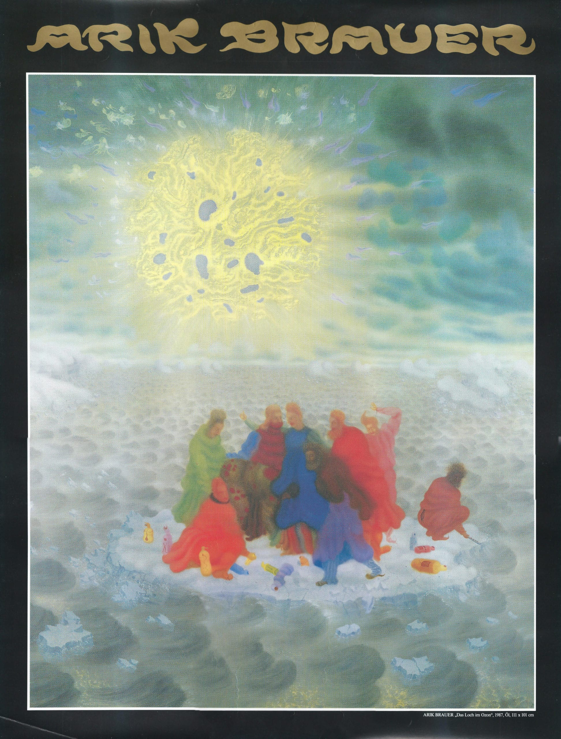 Arik Brauer – Das Loch im Ozon