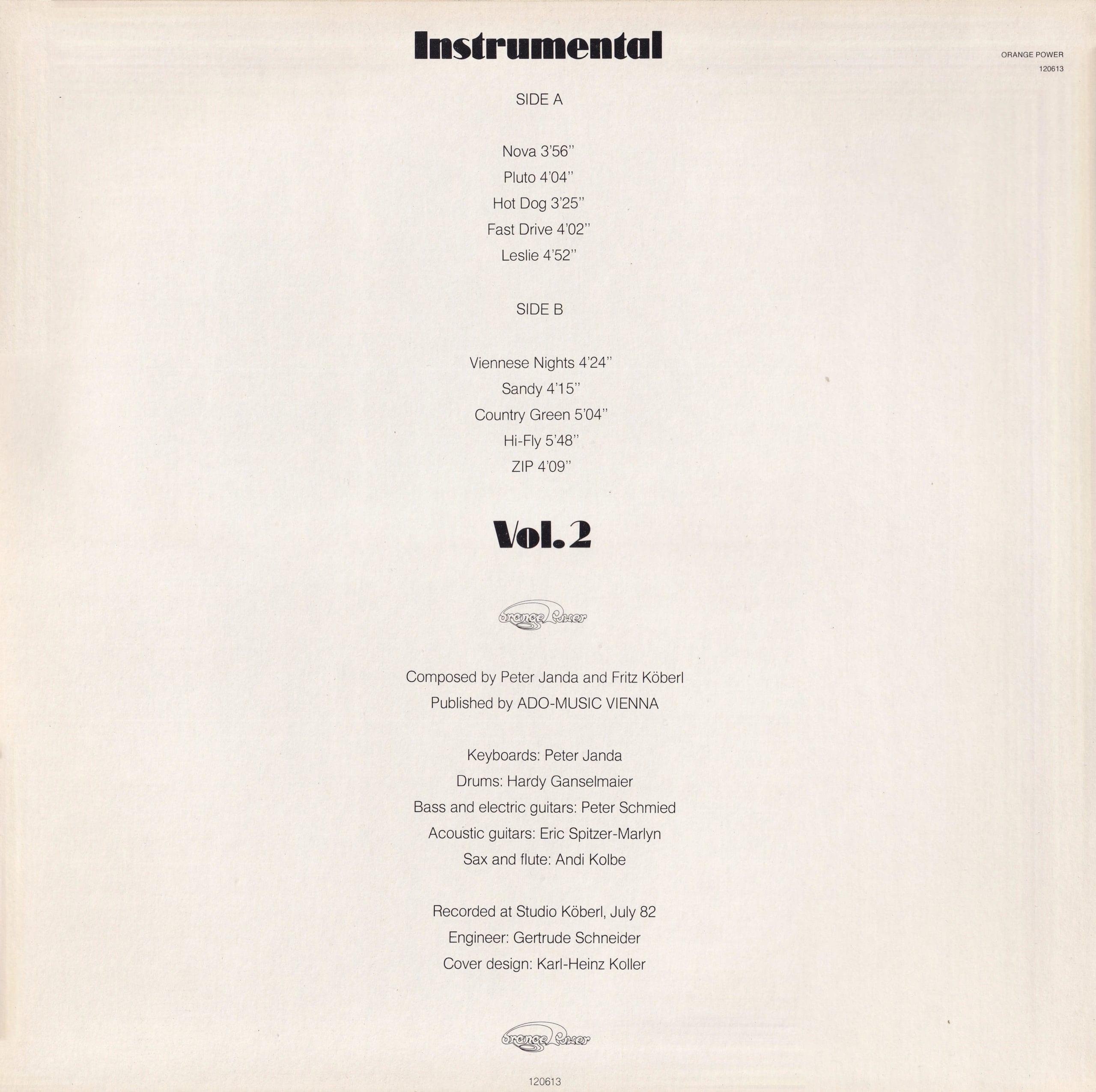 Instrumental, Vol. 2 – 2
