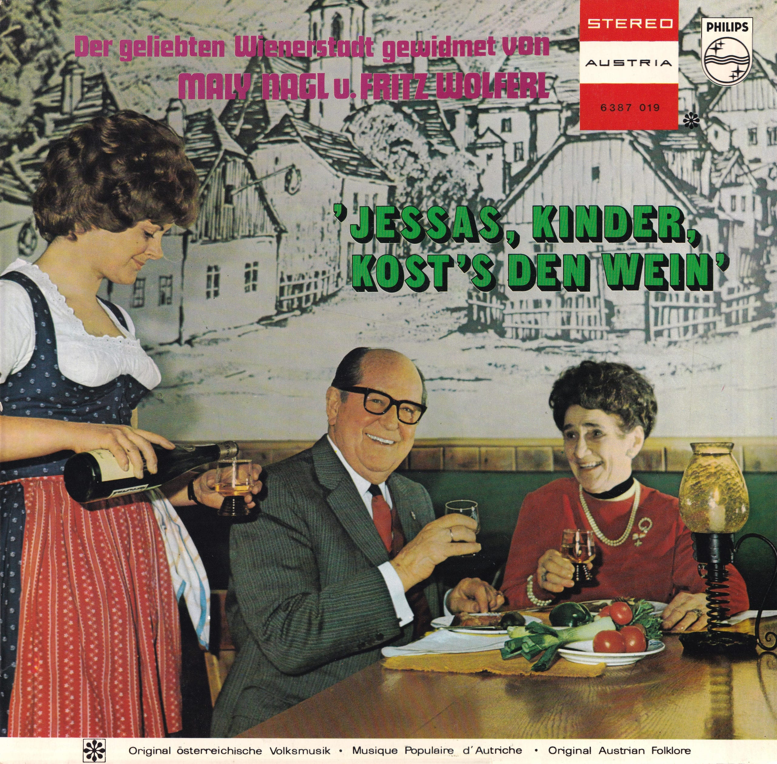 Jessas, Kinder, kosts den Wein – 1