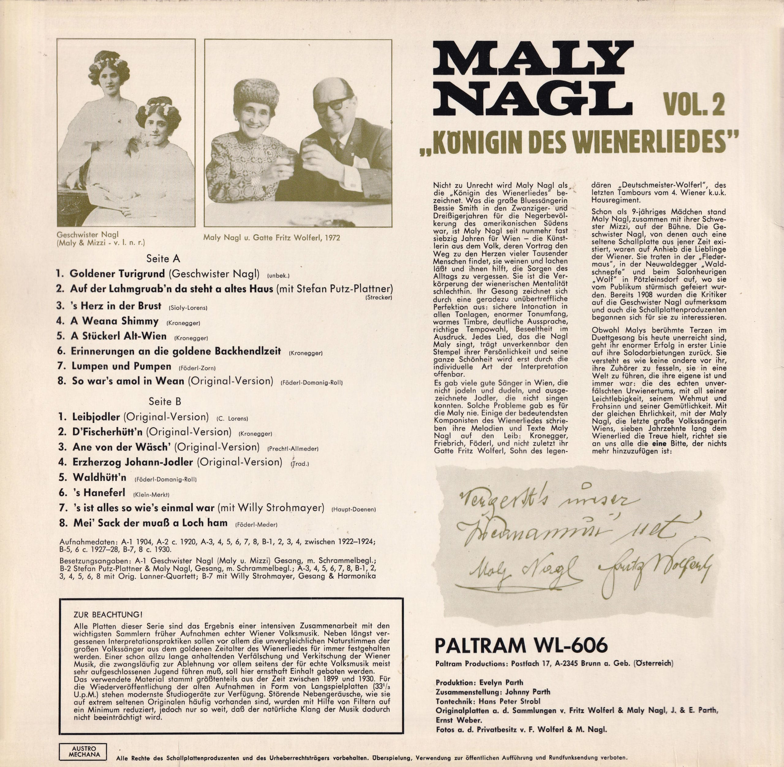 Königin des Wienerliedes, Vol. 2 – 2