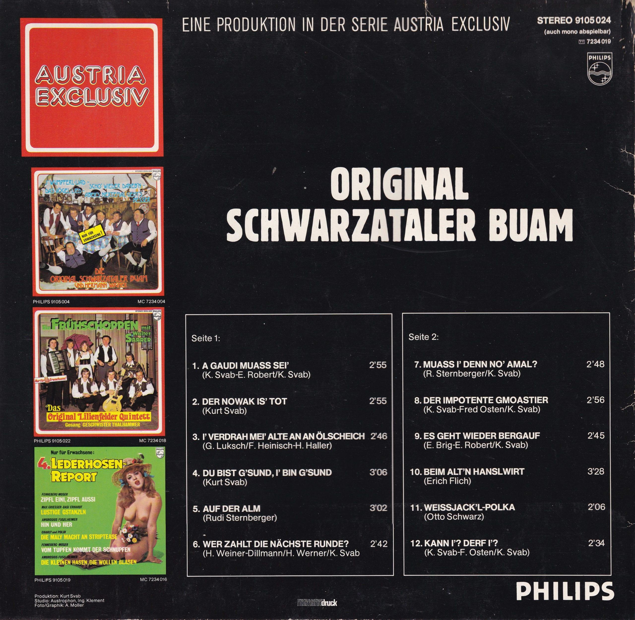 Original Schwarzataler Buam – 2