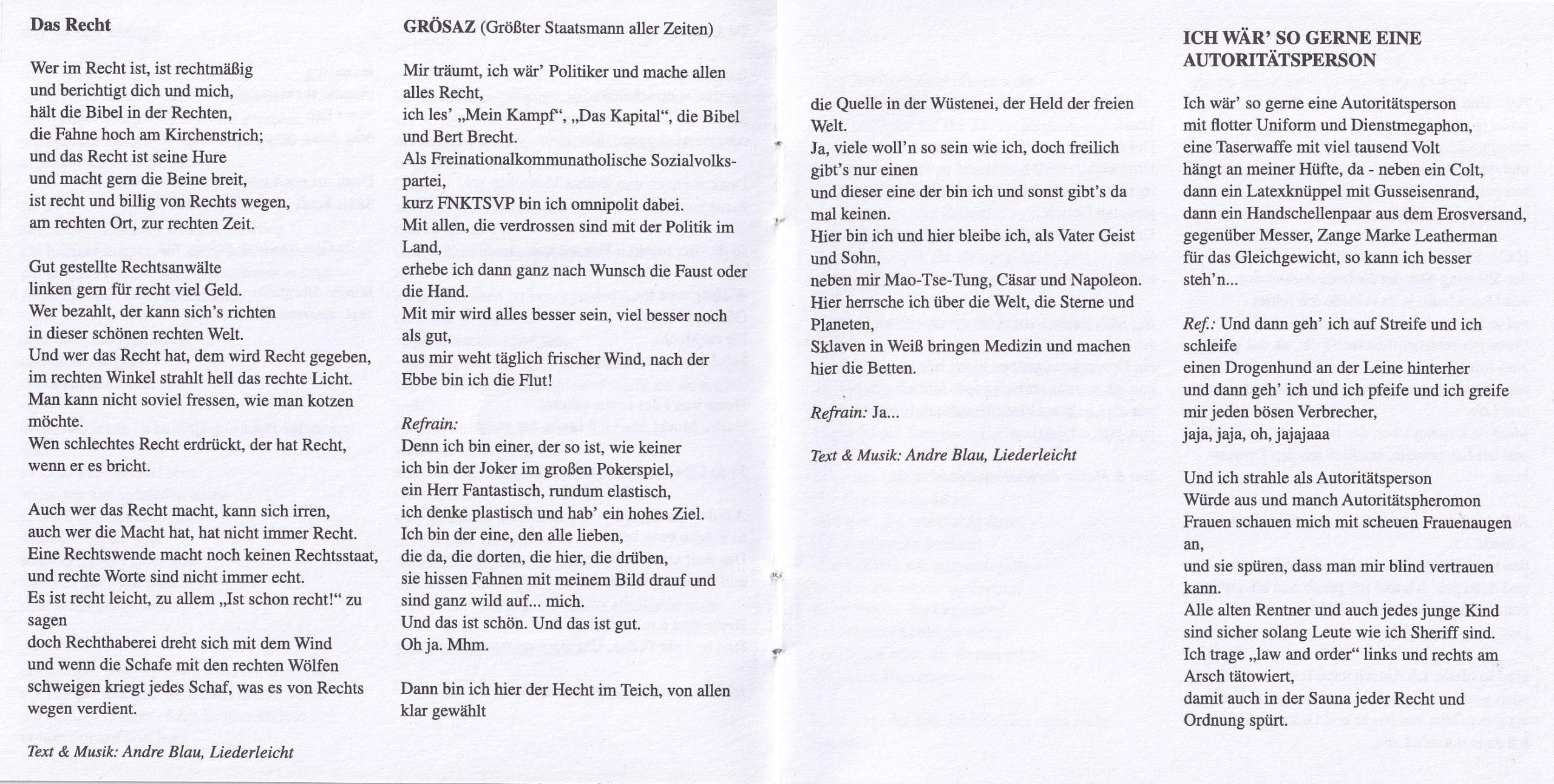 Widerstandslieder 2014 – Booklet – 6-7