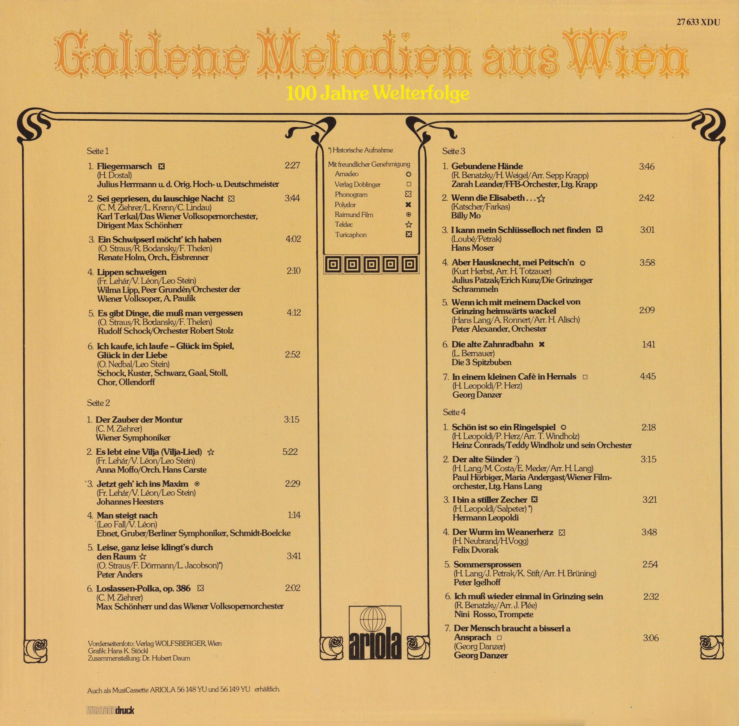 Goldene Melodien aus Wien – 4