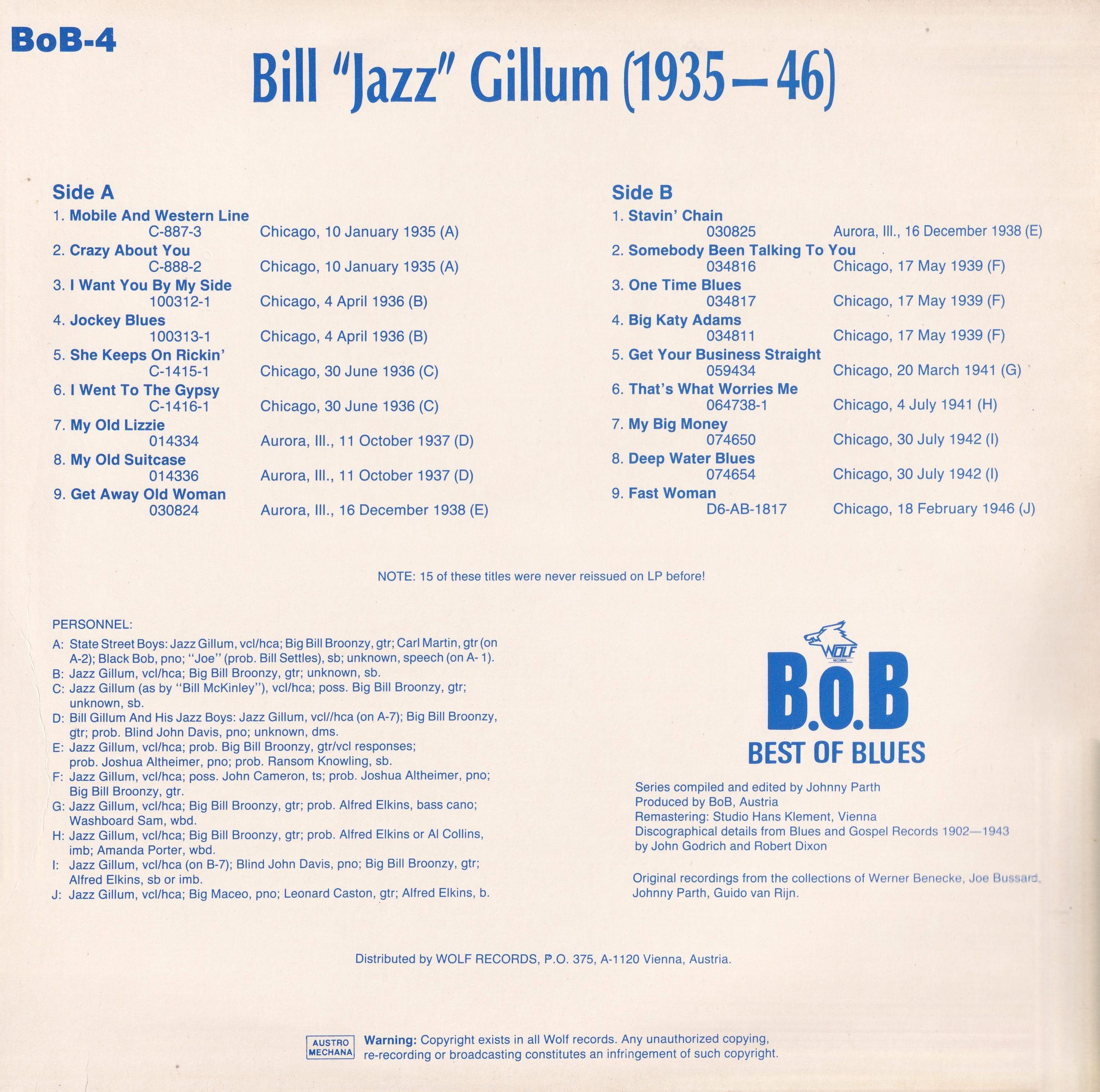 Jazz Gillum – 2