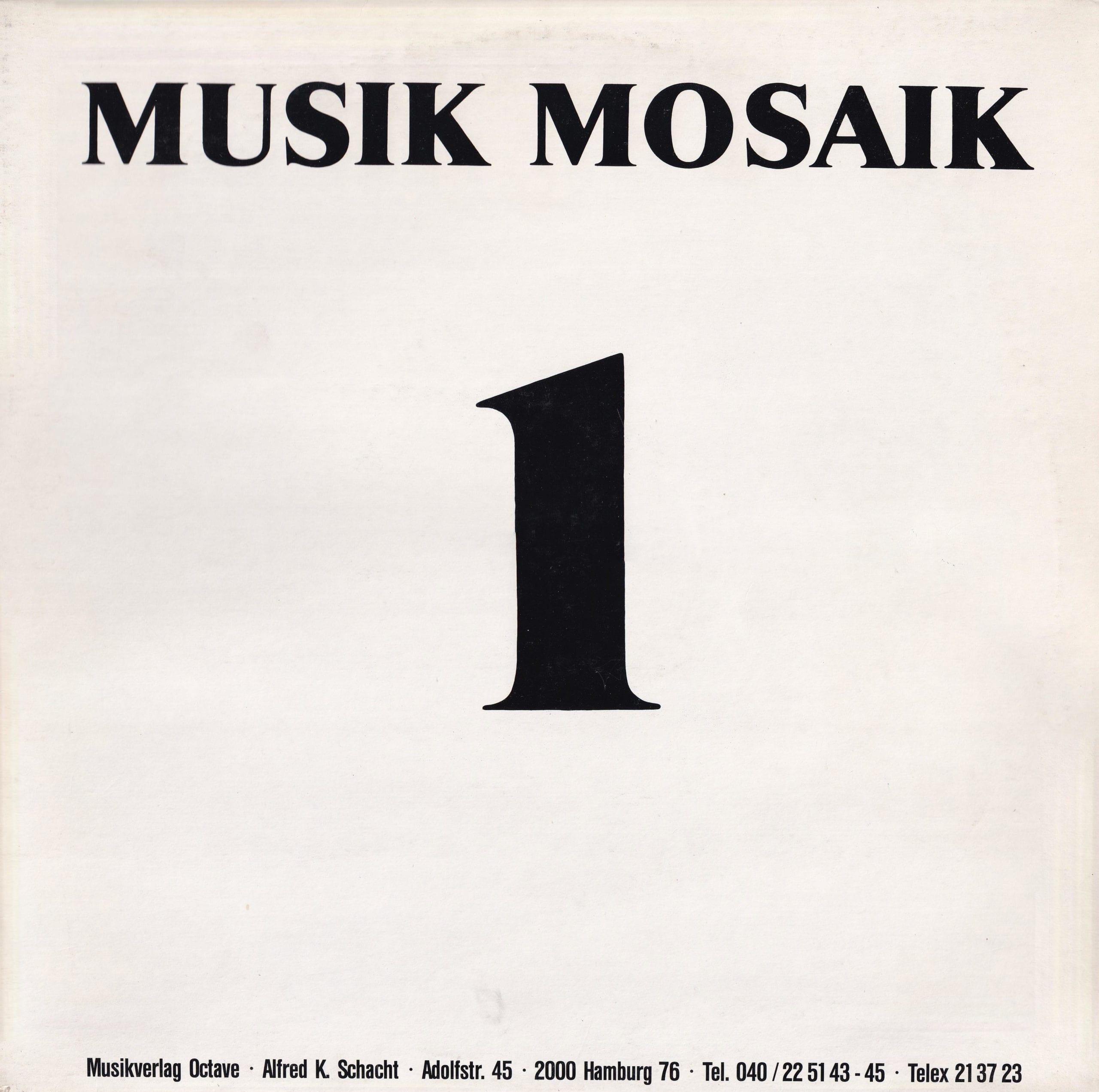 Musik Mosaik 1 – 1