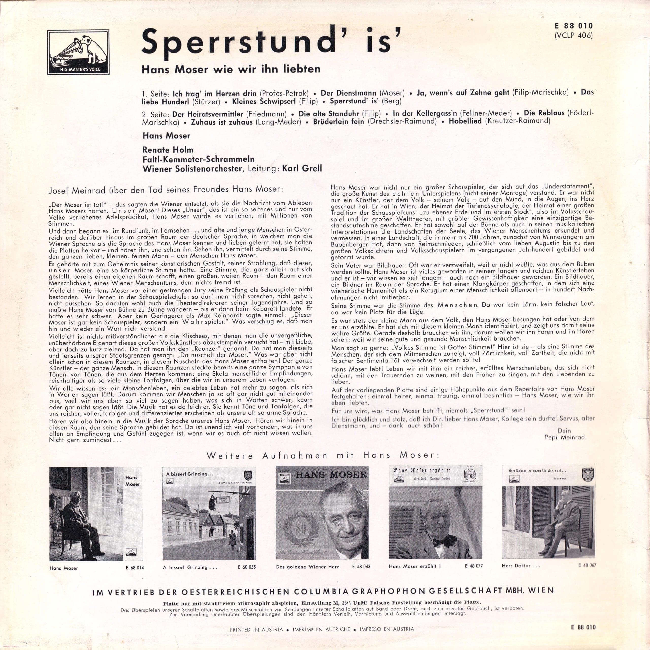 Sperrstund is II