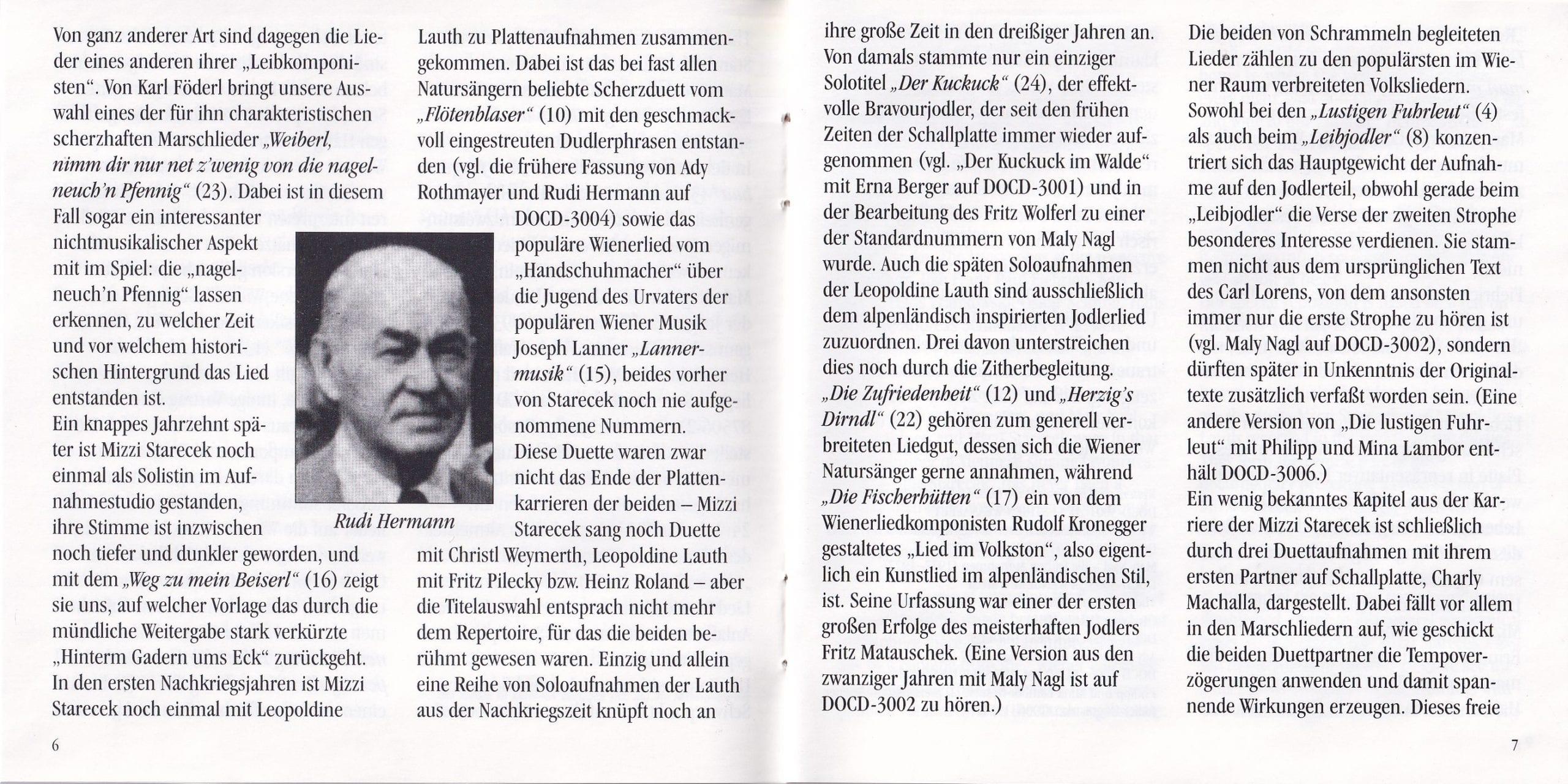 D Weanatanz san da höchste Spinat – Booklet – 6-7