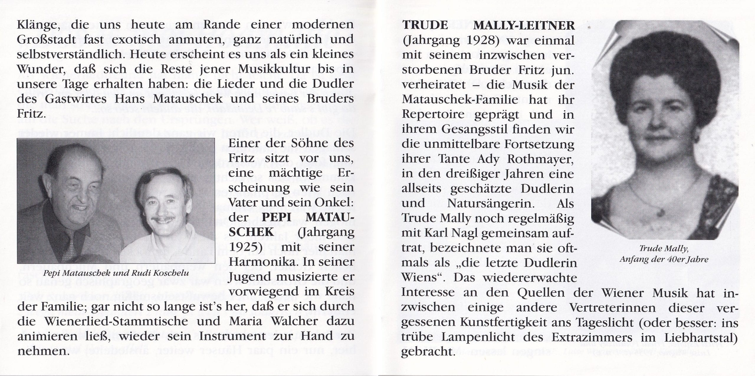 Dös is mei Hoamatle – Booklet – 4-5