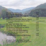 Golfsongs 1 – 3