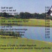 Golfsongs 2 – 3
