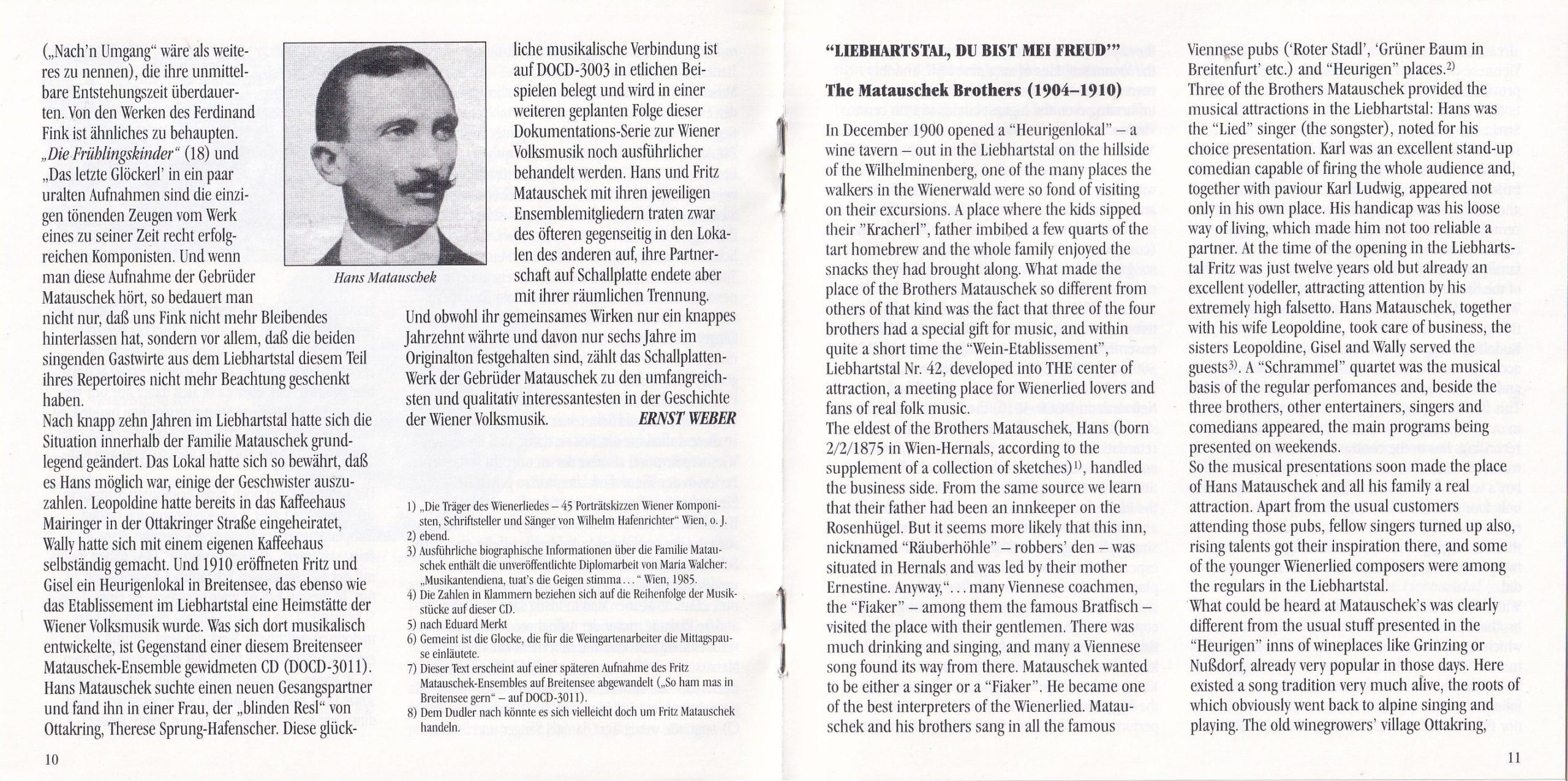 Liebhartstal, du bist mei Freud – Booklet – 10-11