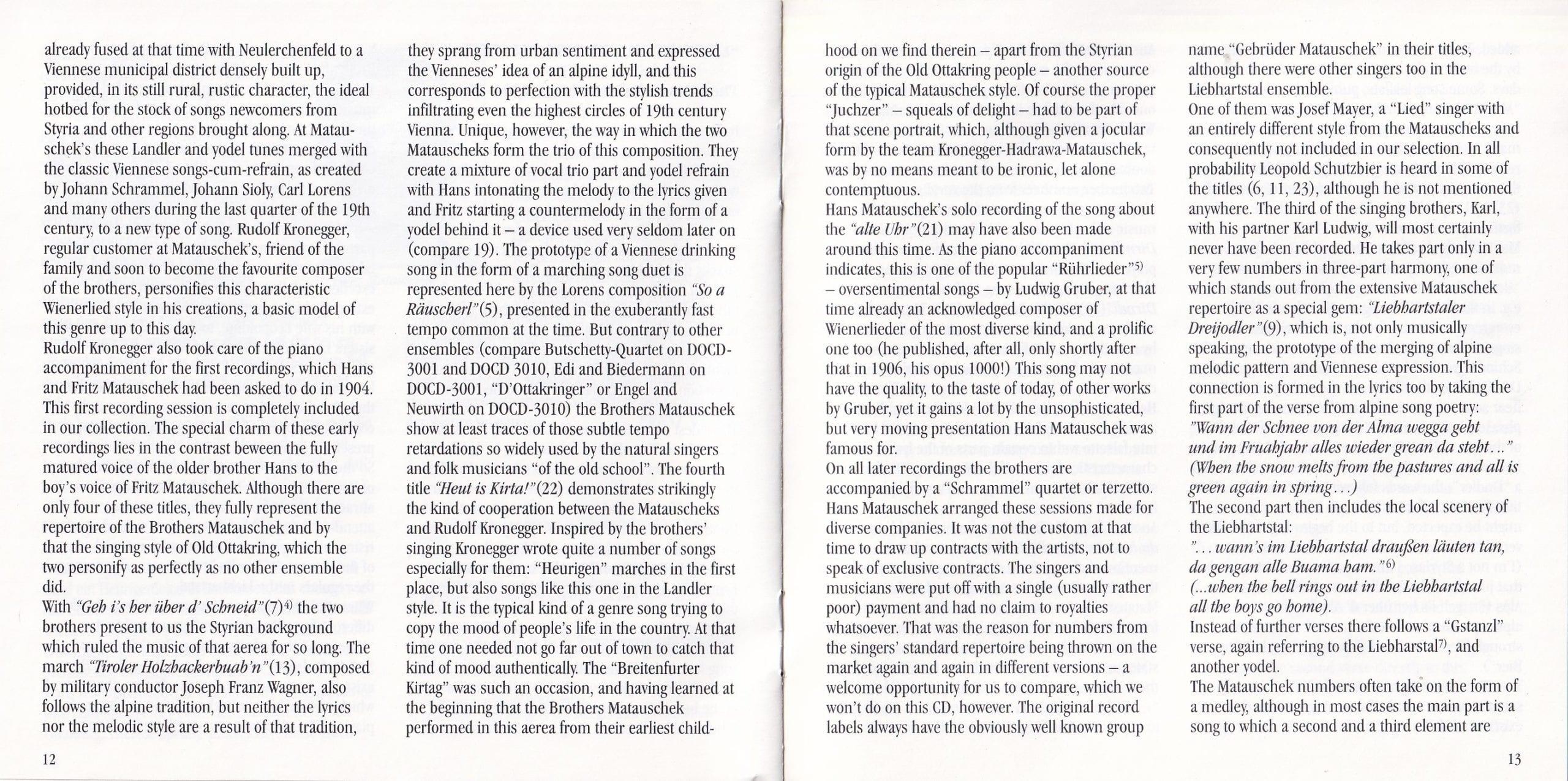 Liebhartstal, du bist mei Freud – Booklet – 12-13