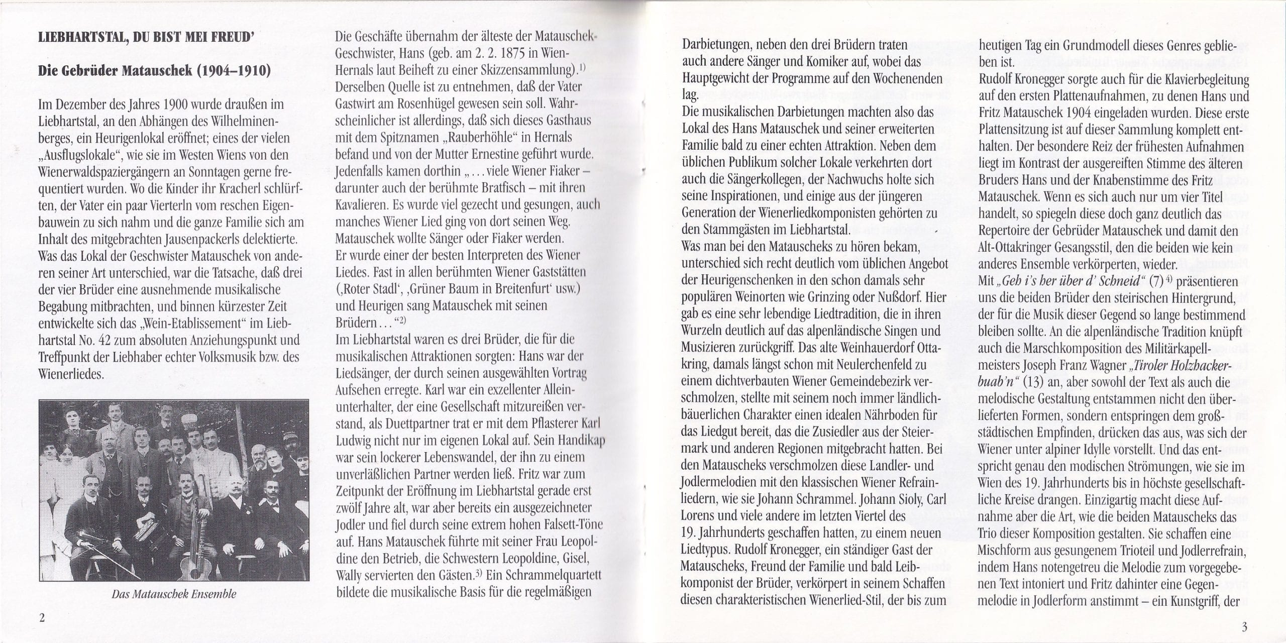 Liebhartstal, du bist mei Freud – Booklet – 4-5