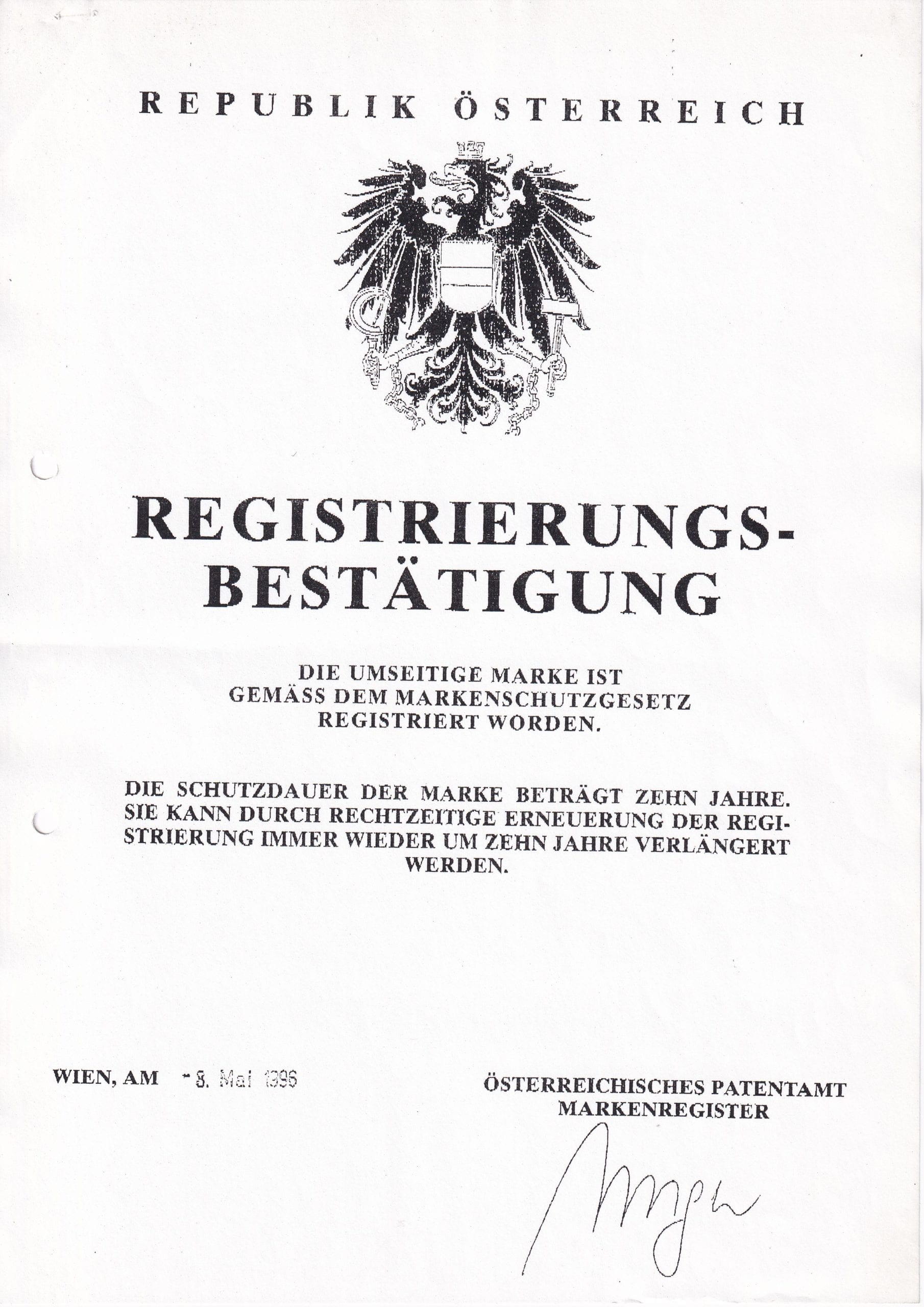 Patentamt – 1