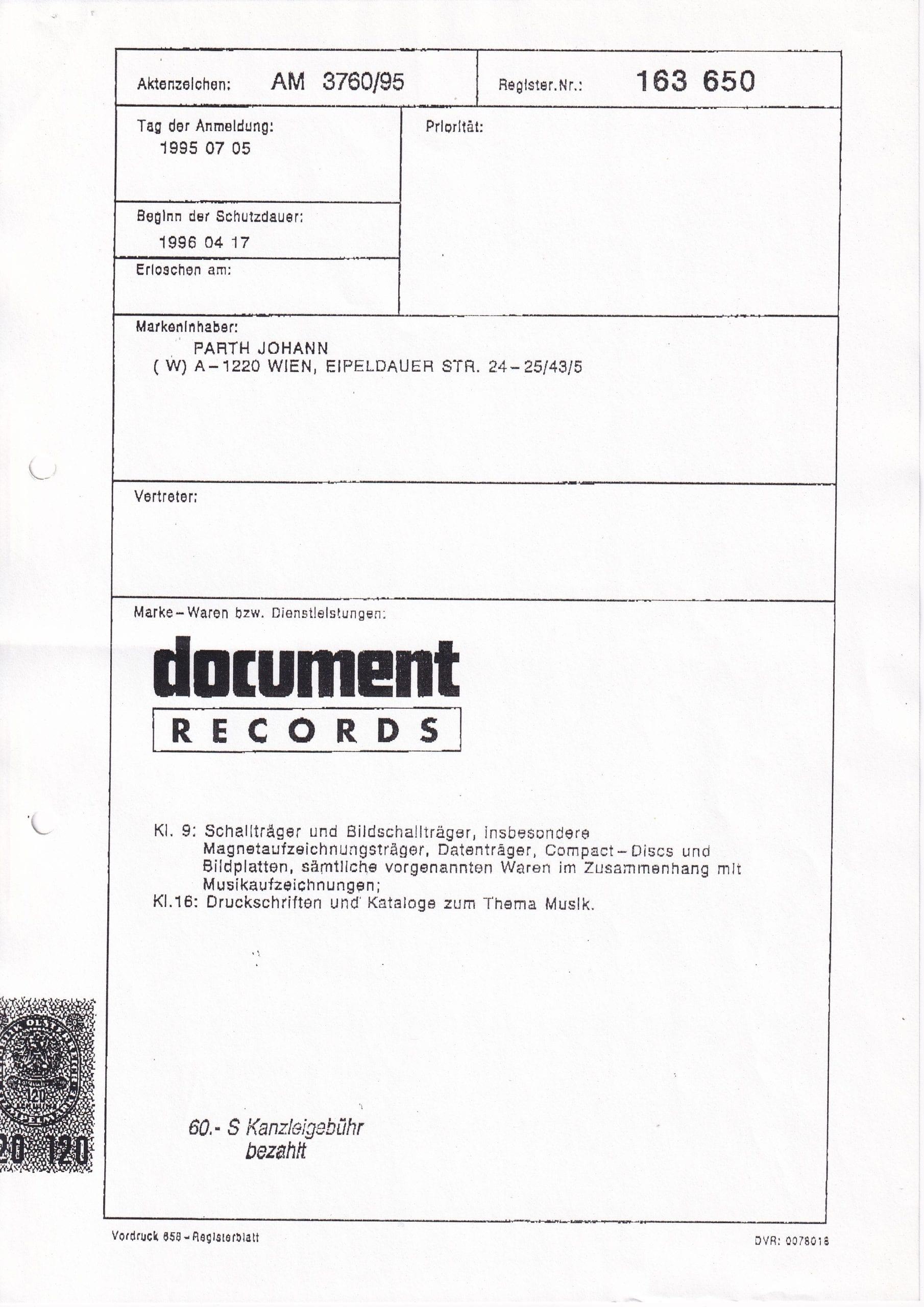Patentamt – 2