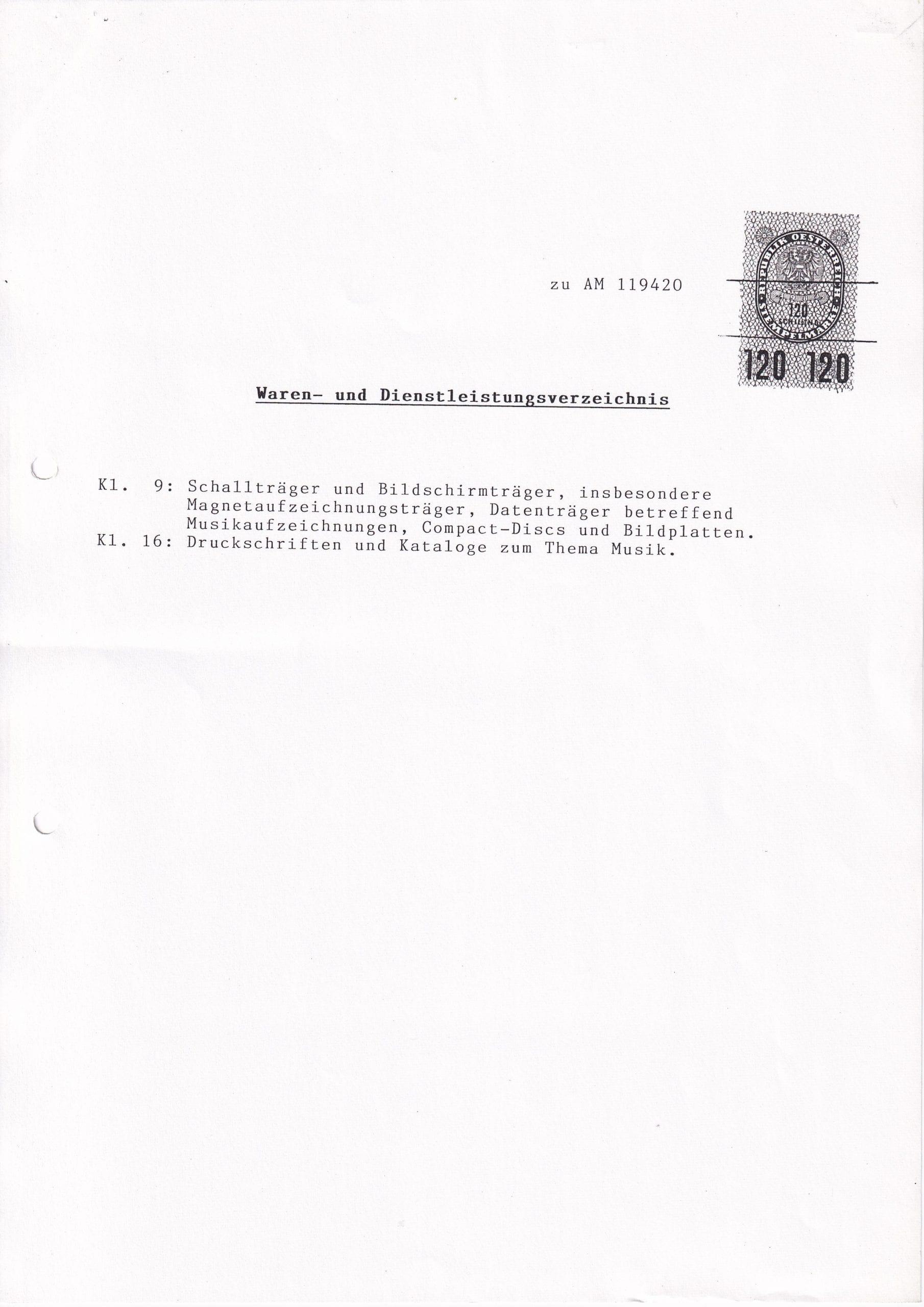 Patentamt – 3