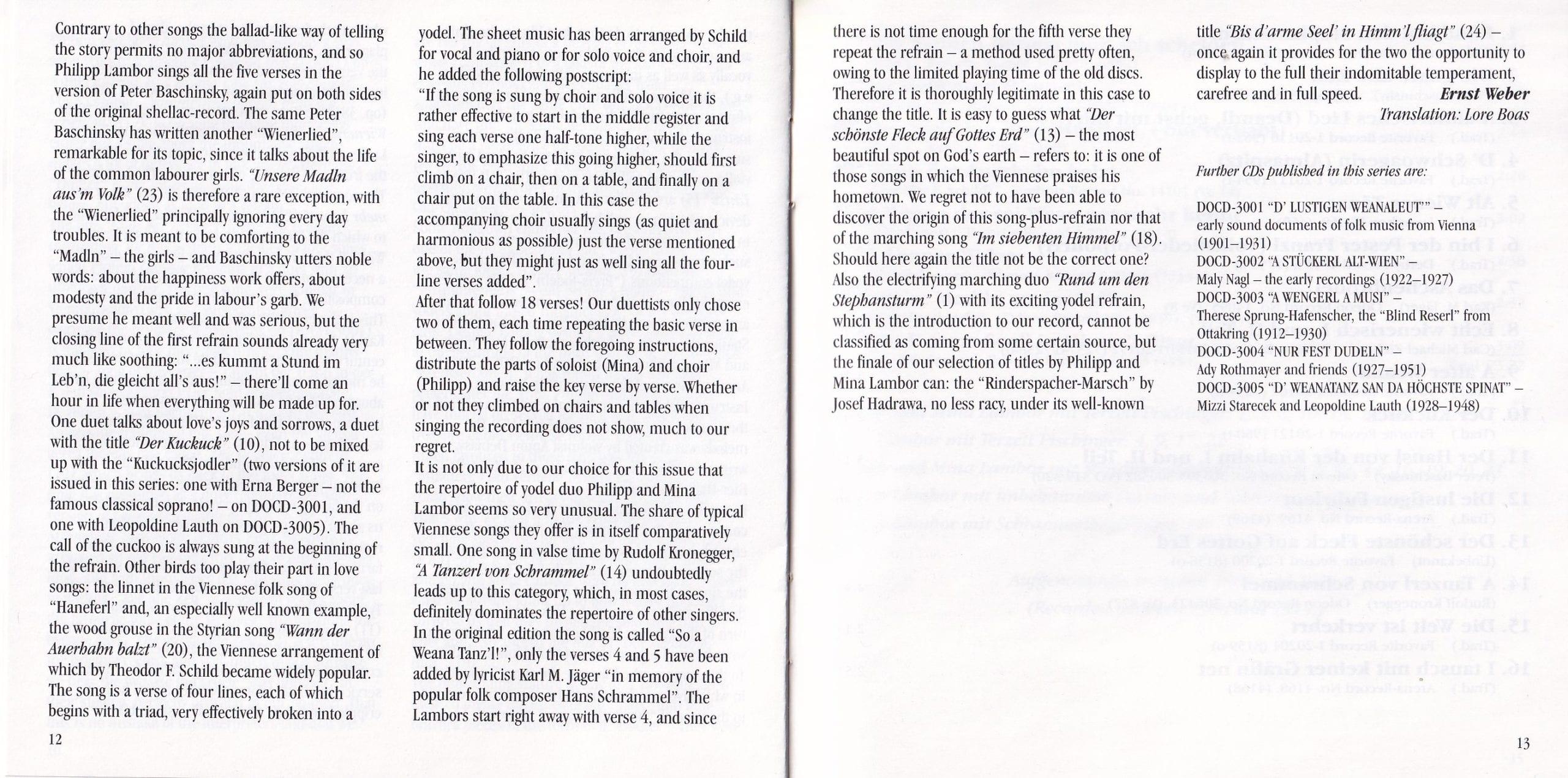 Rund um den Stephansturm – Booklet – 12-13