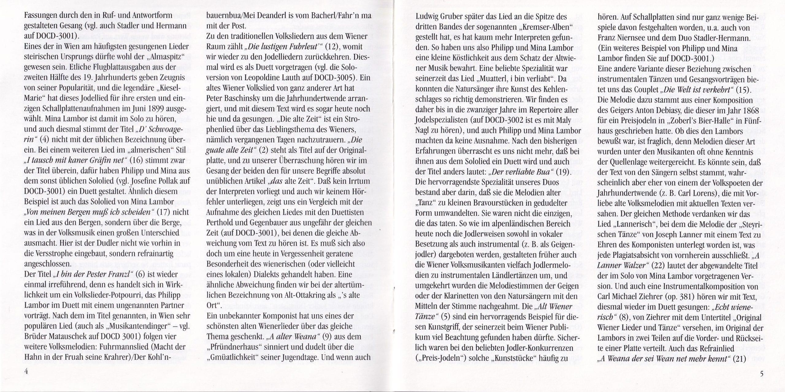 Rund um den Stephansturm – Booklet – 4-5