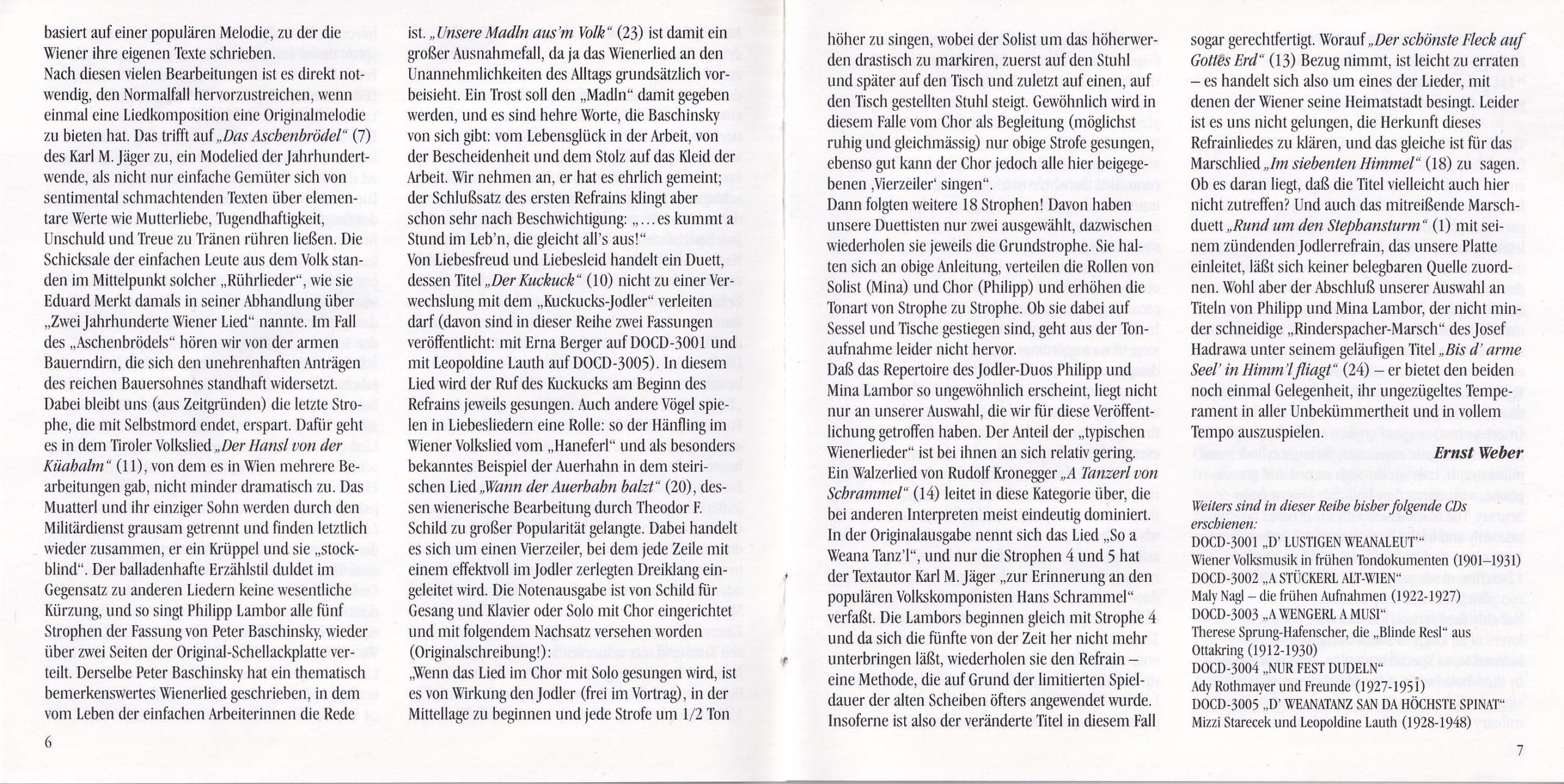 Rund um den Stephansturm – Booklet – 6-7