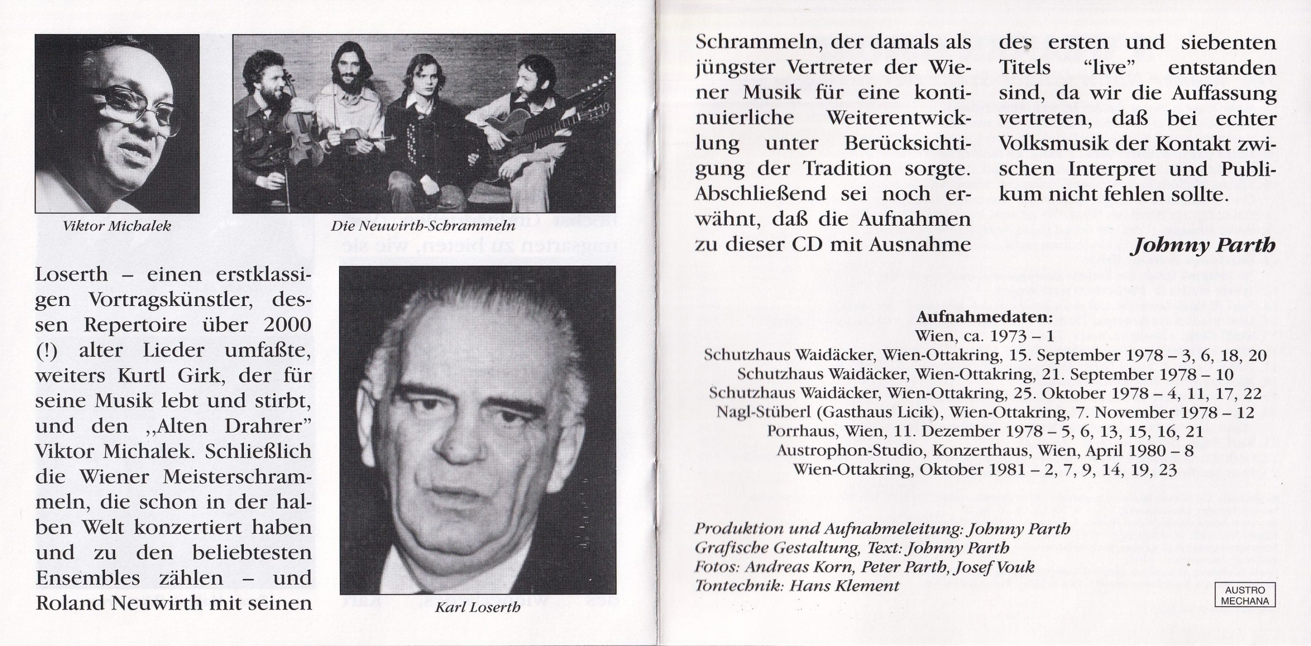 S Weaner Gmüat – Booklet 6-7