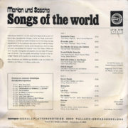 Songs of the world – 2